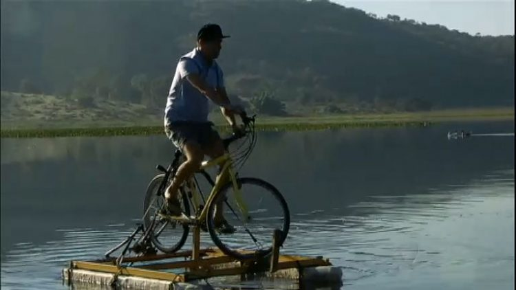 Sucatas: nova utilidade para bicicletas