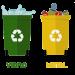 Cores e símbolos da reciclagem
