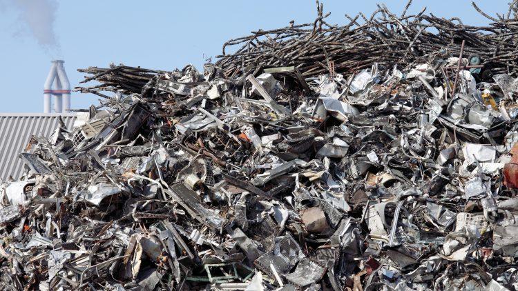 O aço é 100% reciclável