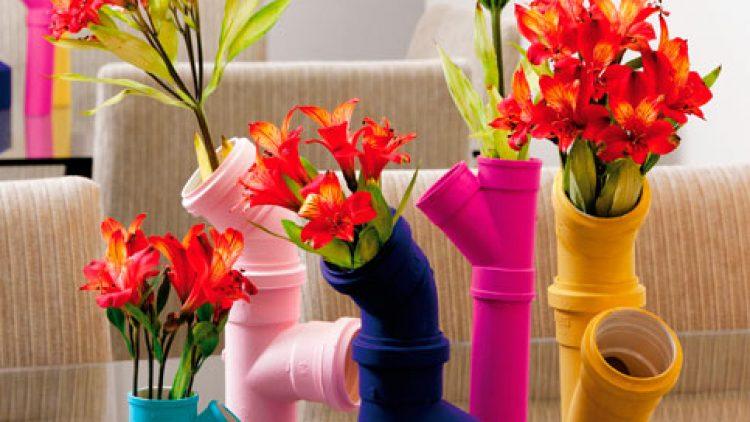 Ideias para reutilizar canos de PVC